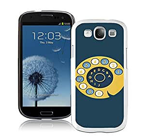 Popular And Unique Custom Designed Case For Samsung Galaxy S3 I9300 With Fossil 40 White Phone Case