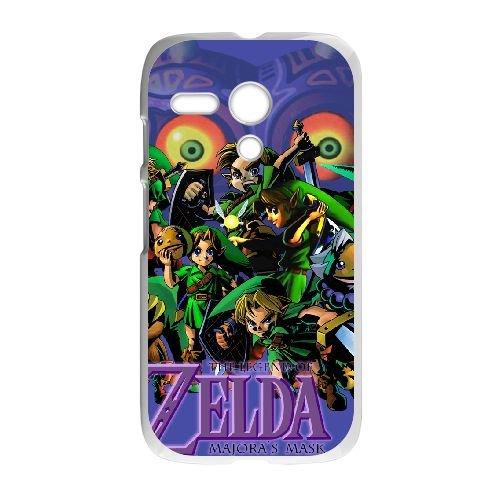 Motorola G teléfono celular caso blanco la Leyenda de Zelda ...