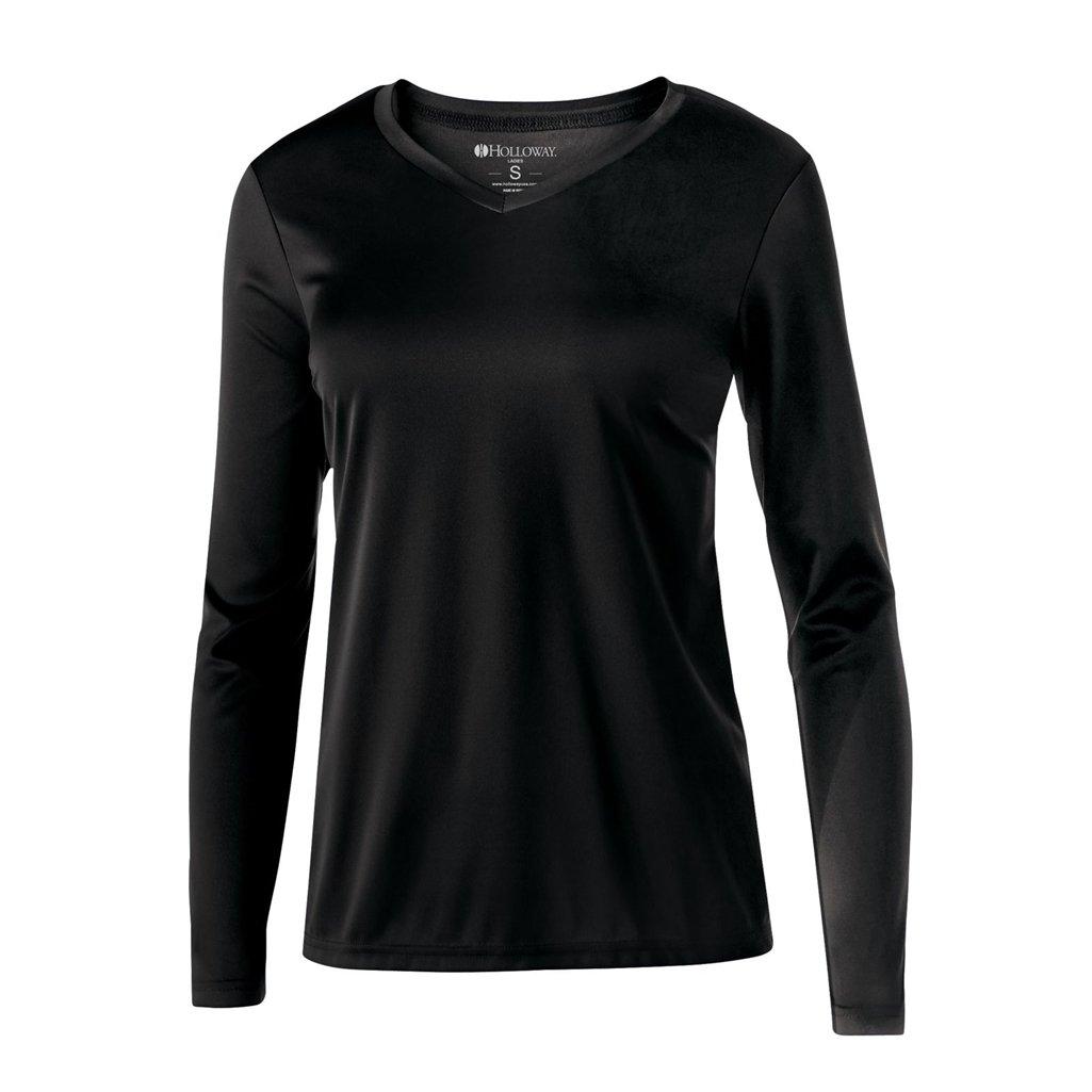 格安新品  Holloway dry-excel dry-excel Ladiesスパーク2.0シャツ Large ブラック Large ブラック B01FN7S9MA, 大和文庫:84528404 --- ciadaterra.com