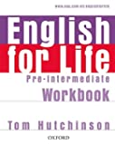 English for Life Pre-Intermediate. Workbook without Key