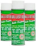 gun cleaner ballistol - Ballistol Multi-Purpose Lubricant Cleaner Protectant Combo Pack #4