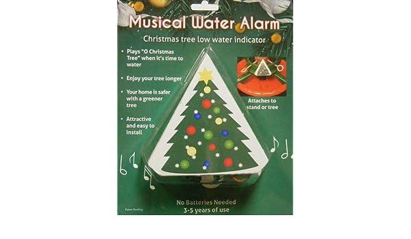 amazoncom christmas tree musical water level alarm home kitchen