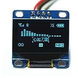 DIYmall 0.96' Inch Blue I2c IIC Serial 128x64 OLED LCD LED Display Module for Arduino 51 Msp420 Stim32 SCR