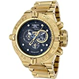 Invicta Men's 6554 Subaqua Noma IV Collection Chronograph 18k Gold-Plated Watch, Watch Central