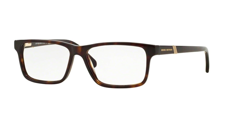 90c7eaea4caf Brooks Brothers BB 2025 Eyeglasses 6000 Tortoise 53-14-145  Amazon.co.uk   Clothing