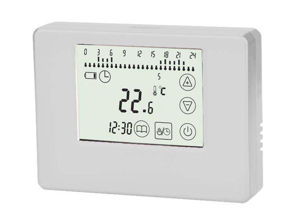 SM-PC®, Thermostat Touchscreen ivory, Aufputz, potentialfreier ...