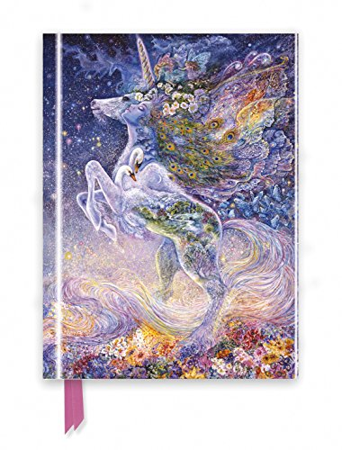 Josephine Wall: Soul of a Unicorn (Foiled Journal) (Flame Tree Notebooks)