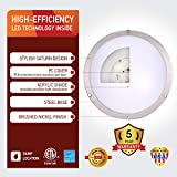 OSTWIN (4 Pack) 12 Inch LED Flush Mount Ceiling