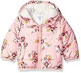 Carter's Baby Girls Fleece Lined Puffer Jacket Coat, Floral, 18M