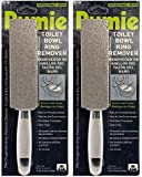 Pumie Toilet Bowl Ring Remover, TBR-6, Pumice Stone with Handle, Removes Unsightly Toilet Rings and Stains from Toilets…