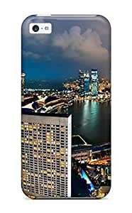 Diy Yourself Awesome Singapore City Flip case cover With Fashion Design For Iphone 47nsJJMSrOS 5c