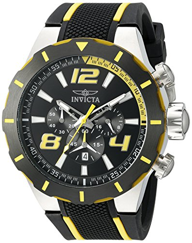 Invicta Men's 20104SYB S1 Rally Analog Display Quartz Two Tone Watch