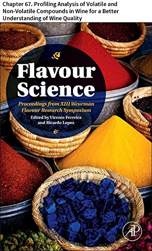 - Flavour Science: Chapter 67. Profiling Analysis of Volatile and Non-Volatile Compounds in Wine for a Better Understanding of Wine Quality