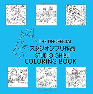 The Unofficial Studio Ghibli Coloring Book Reyes Alyssa Amazon Sg Books