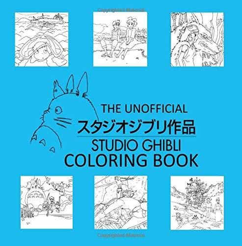 Amazon Com The Unofficial Studio Ghibli Coloring Book 9781725837904 Reyes Alyssa Books
