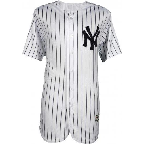 7ae69a2ab Framed Aaron Judge New York Yankees Autographed Majestic White Authentic  Jersey with 2017 AL ROY Inscription
