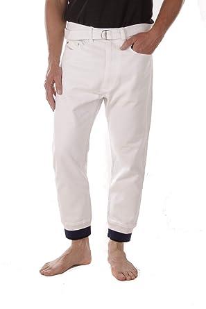 Diesel Holgada Pantalones Vaqueros Hombre (W32, Blanco ...
