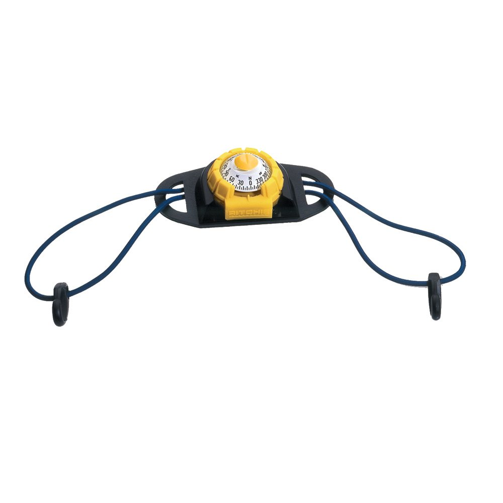 Ritchie SportAbout Compass w/Kayak Holder - Yellow/Black-Marine Instruments   Co