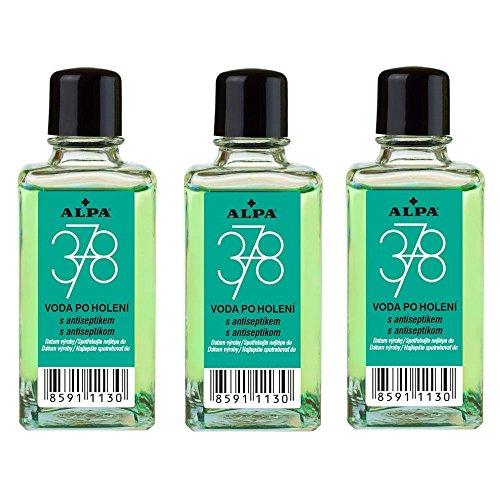 ALPA Czech 378 After Shave Calm Lotion 50 ml 1.7 fl oz Flower Citrus Fragrance (3 PACK)