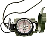 Cammenga 3HCS Official US Miltary Lensatic Compass Tritium, Clam Pack
