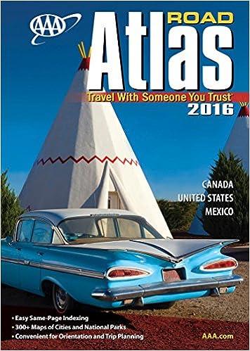 AAA Road Atlas Aaa North American Road Atlas AAA - Does aaa have maps of the us
