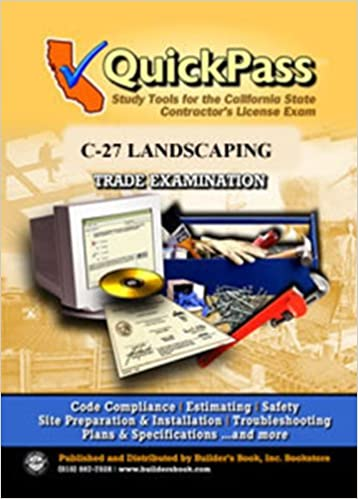 QuickPass Study Tools For The C 27 Landscaping License