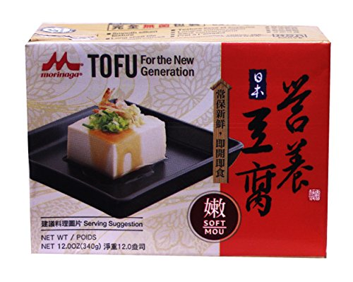 Nutritious Tofu Tofu 12.3 oz - Soft (Pack of 12)