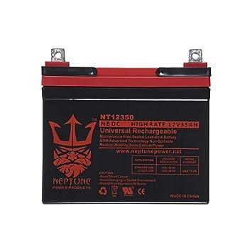Simplicity Coronet 11G 12V 35Ah SLA - Batería de repuesto ...