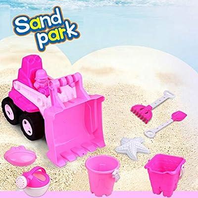 Makkalen Beach Toy Beach Models Set Outdoor Sand Toy Set Beach Toy Set for Kids: Home & Kitchen