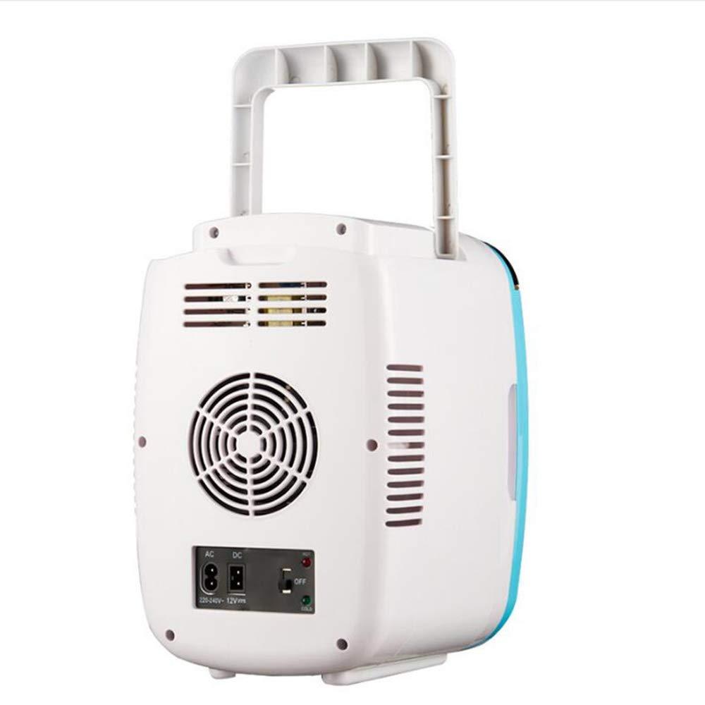 Amazon.es: L&K Mini Nevera De Coche Refrigerador 4 litros 12V AC 220V DC Portátil, Sistema Termoeléctrico para El Hogar, Oficina Y Coche