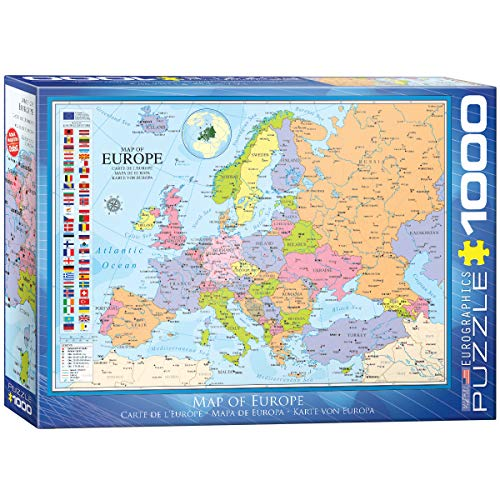 (EuroGraphics Map of Europe Puzzle (1000 Piece))