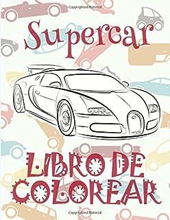 Supercar ✎ Libro de Colorear Carros Colorear Niños 7 Años ✍ Libro de Colorear Infantil