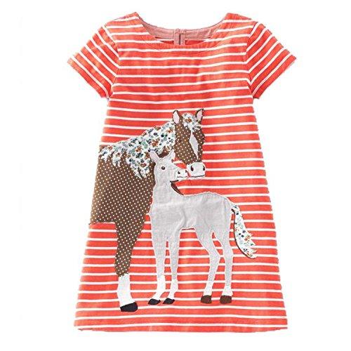 Baby Girls Dress Summer Unicorn Costume for Kids Clothing Animal Girls Clothes Princess Dress,63,6]()