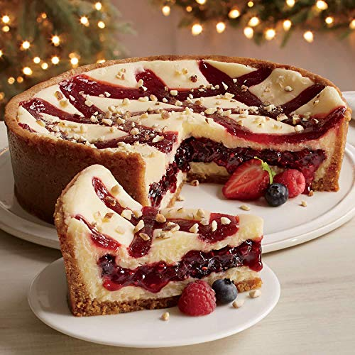 Triple Berry Cheesecake from The Swiss - Cheesecake