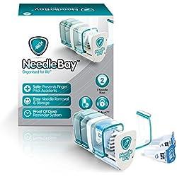 NeedleBay 2 Diabetes Medication System, 4.48 Ounce