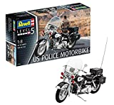 Revell 07915 US Police Motorbike Model Kit