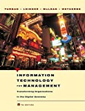 Information Technology for Management, Efraim Turban and Dorothy   Leidner, 0471705225