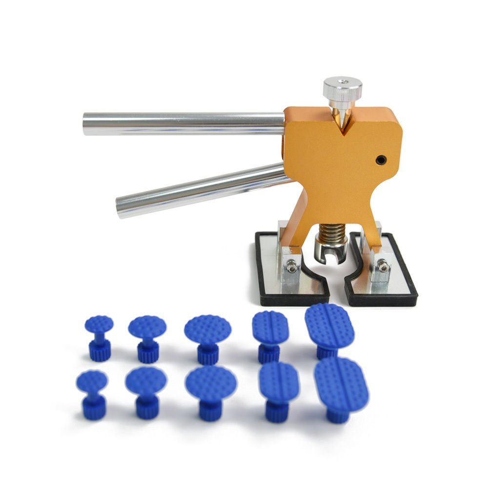 Labu Store Tools Paintless Dent Repair Tools Dent Removal Dent Puller Tabs Dent Lifter Hand Tool Set