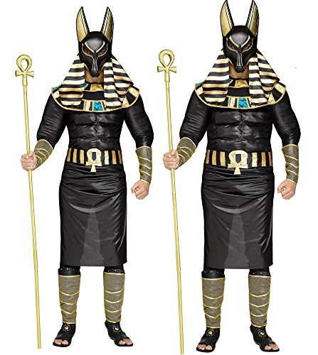 Faerynicethings Adult Size Egyptian God Anubis Muscle Costume - Standard Or Plus