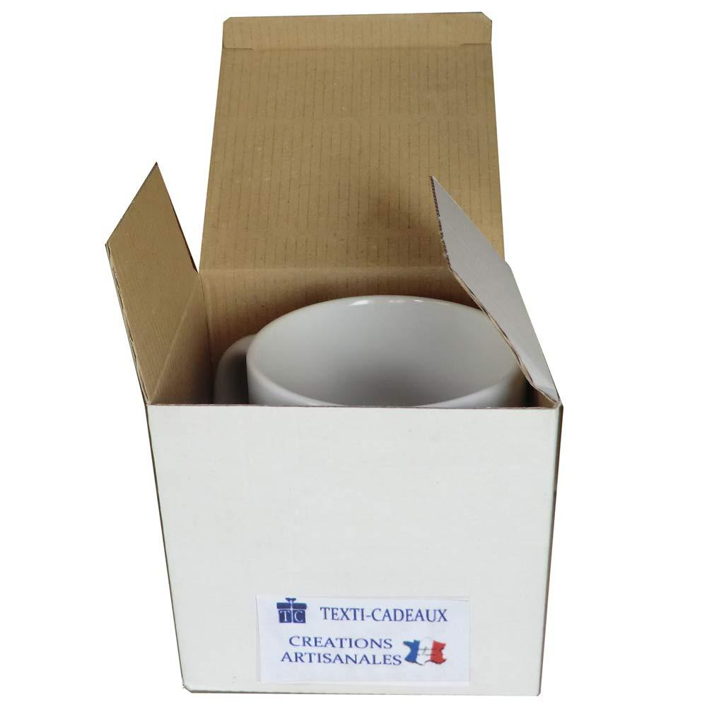 Texti-Cadeaux-Mug de lile dOl/éron /à personnaliser avec un pr/énom exemple Micheline