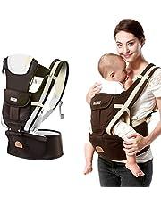 Bärsele för nyfödda, hip sits småbarn 360 ergonomisk bärsele bärsele rygg mjuk babyryggsäck bärrem linning för nyfödda, spädbarn, småbarn