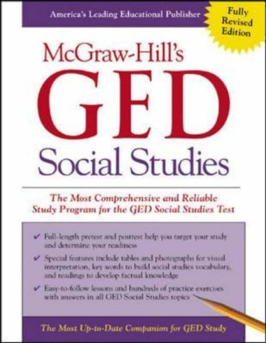 McGraw-Hill's GED Social Studies by Kenneth Tamarkin (2002-09-13)