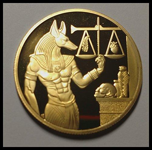Egyptain God Anubis Challenge Art (Egyptian Coin)