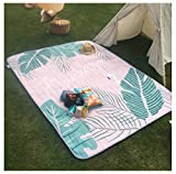 Z6 Blanket – Huge Ground Cover 6ft x 7ft for 5 Adults – Best Sand Proof Picnic Mat for Travel, Camping, Hiking and Music Festivals
