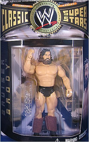 Jakks Pacific WWE Wrestling Classic Superstars Series 8 Bruiser Brody Action Figure