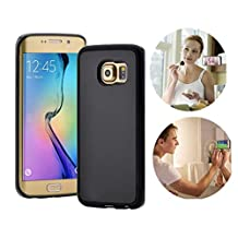 Super Modern Anti-gravity Phone Case for Samsung Galaxy S6 S7 edge Magical Anti gravity Nano Suction Cover Adsorbed Cases