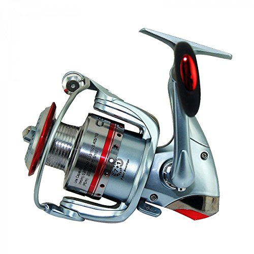 Ecooda czs deluxe spinning reel freshwater saltwater for Freshwater fishing reels