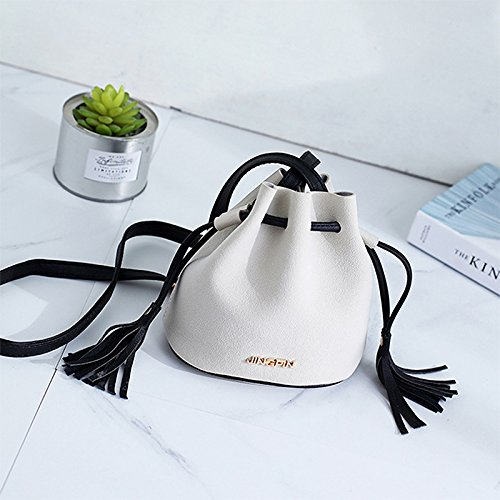 Adjustable Phone Mini Shopping cm 18 Cell Outflower Hand Pouch PU Black Drawstring Coin Croosbody with Side Travel Wristlet Purse Bag Shoulder Clutch Women 20 Strap Makeup Working Bag Bag Black 16 Size HHPqFBn