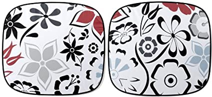 Image Unavailable. Image not available for. Color  Auto Expressions FANCY  FLORAL MAGIC SHADE WINDSHIELD SUNSHADE ... b3e9a4a0811