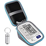 Hard Travel Case for Omron BP742N 5 Series Upper Arm Blood Pressure Monitor Cuff by SKYNEW,Light Grey